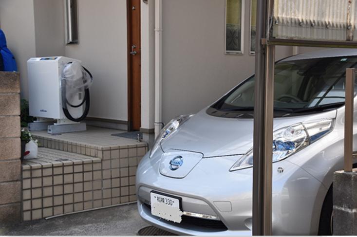 太陽光発電の電気を日産リーフにためて自宅で使う! 自然エネルギーを100%自家消費できる生活を