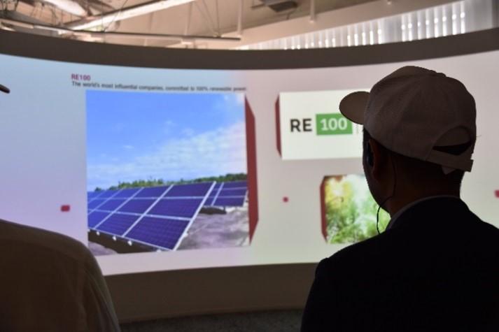 脱炭素社会と循環型社会の実現に向けた活動をする:リコー環境事業開発センター見学レポート