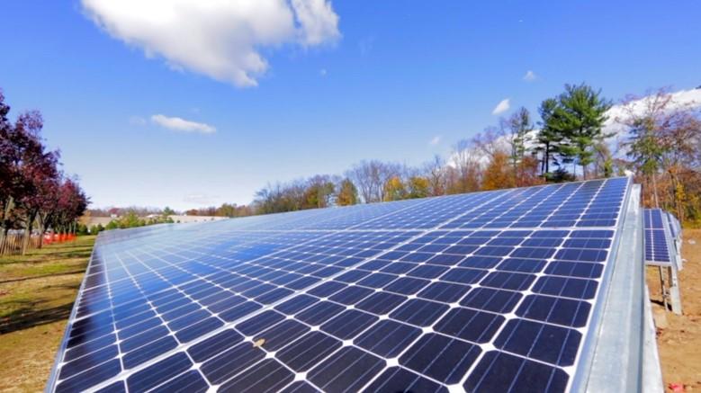 2017年4月 米・ニュージャージ販売拠点 太陽光発電システム