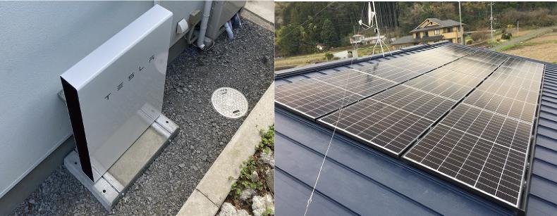 家庭用蓄電池と太陽光発電と併せることでさらにメリットが