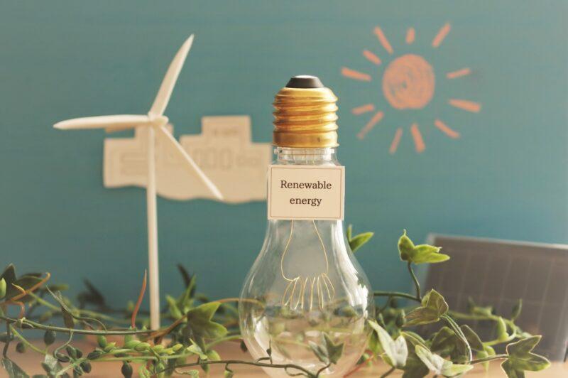 再生可能エネルギーと節電
